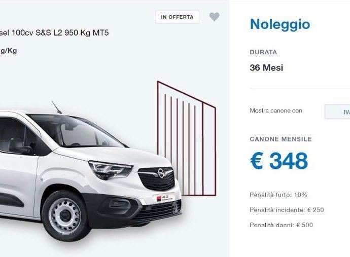Opel Combo Cargo 1.6 Diesel 100cv S&S L2