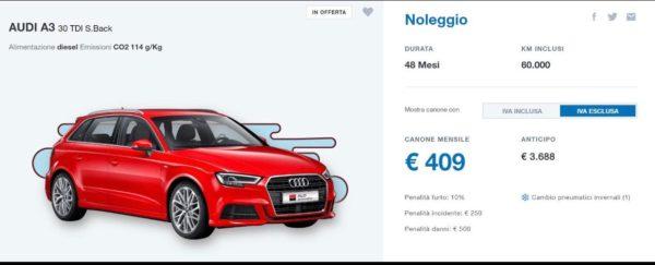 Audi A3 TDI S.Back