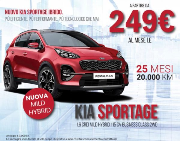 Nuovo KIA Sportage Ibrido